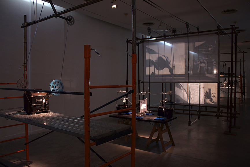 Andrés Denegri - Clamor (exhibition view), 2015