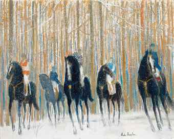 Andre Brasilier-Promenade a Cheval Andre-2013
