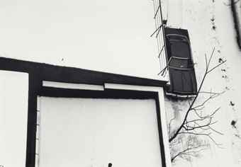 Andre Kertesz-Snow, MacDougal Alley, No. 31-1975