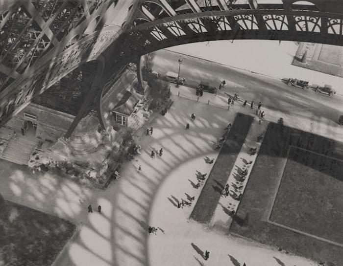 Andre Kertesz-Under the Eiffel Tower, Paris-1929