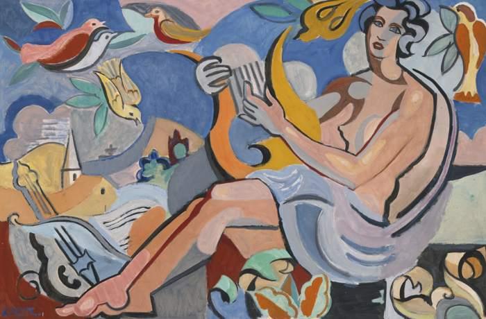 Andre Lhote-Eloge De La Poesie-1935