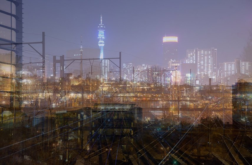 Andre S. Clements - Part of a Joburg Skyline, 2011