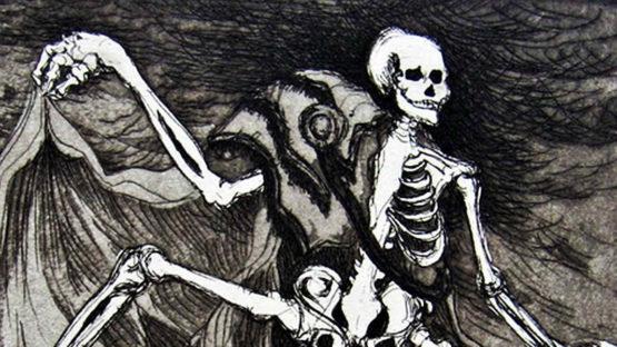 Andre Villeboeuf - Danse macabre, 1944 - image courtesy of Motsaiques