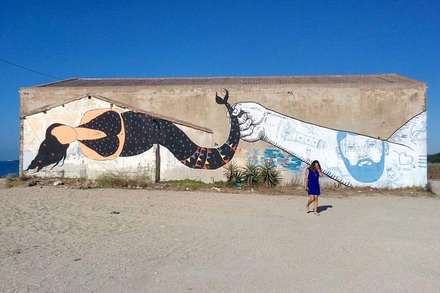 Andrea Casciu Mural