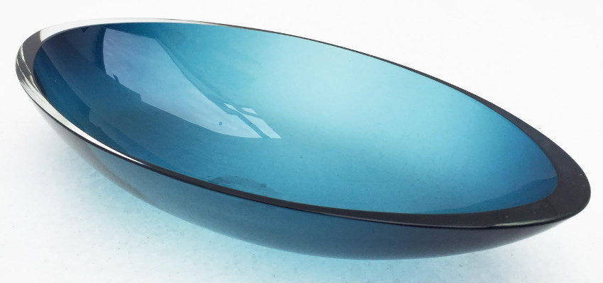 Andrea Fiebig - Long Boat - Small (Blue), 2015