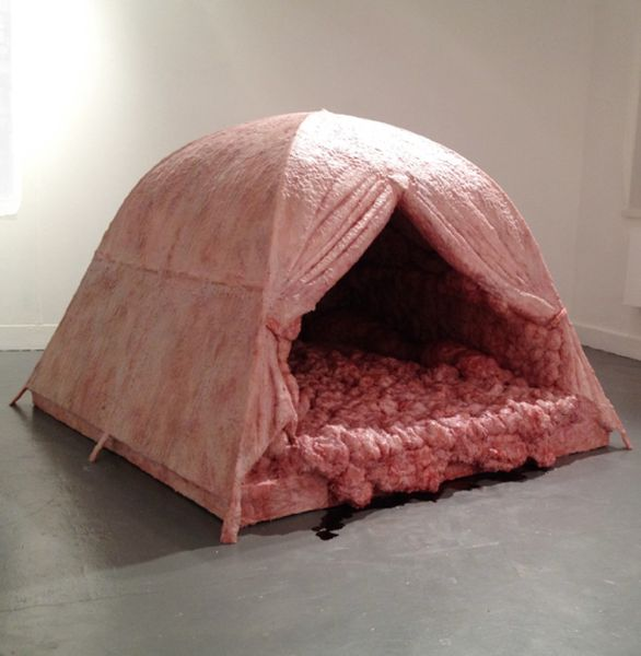 Andrea Hasler - The Meat Tent, via huffintongpost com