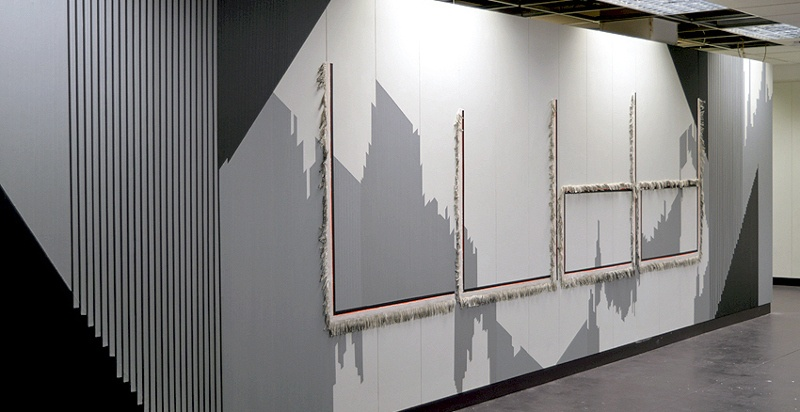 Andrea Medjesi-Jones - The making of Ned Ludd (installation view), 2014