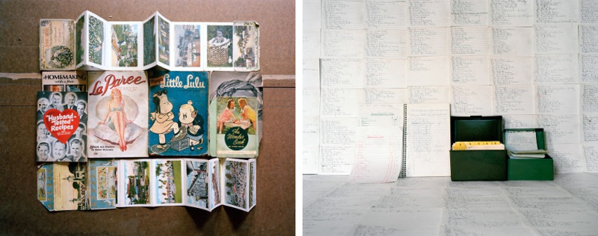 Andrea Tese - Magazines and Pamphlets, Andrea Tese - Grandma's Lists - Inheritance series, 2010-2012