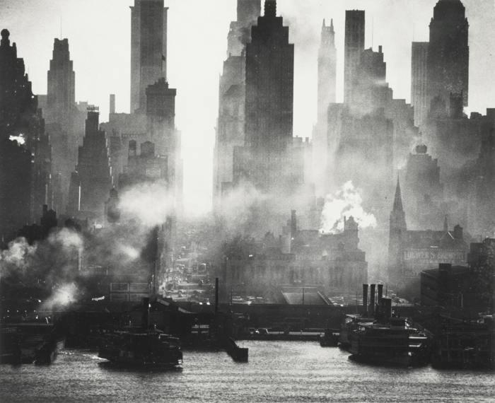Andreas Feininger-42Nd Street As Viewed From Weehawken-1942