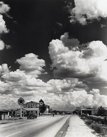 Andreas Feininger-Texaco, Route 66, Arizona-1948