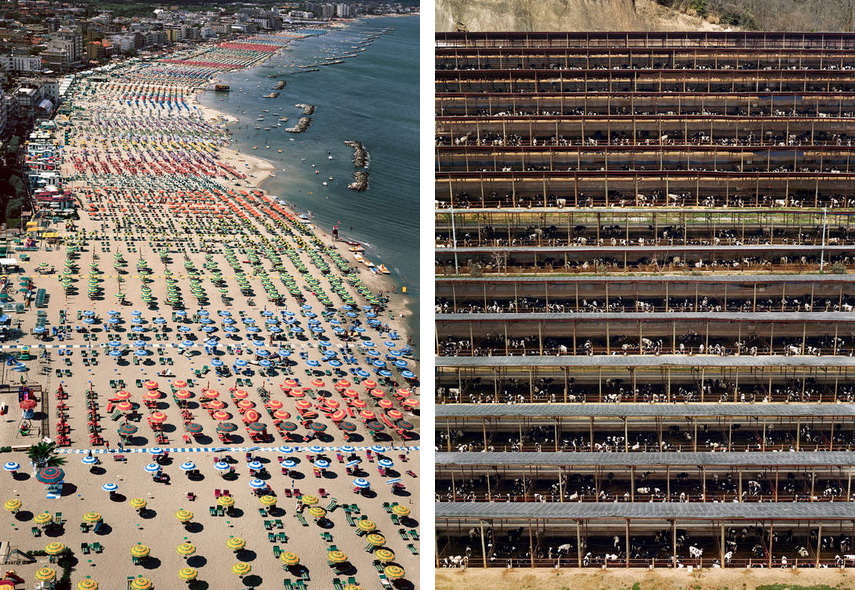 The works of Gursky can be found in various collections and they differ from museum to museum