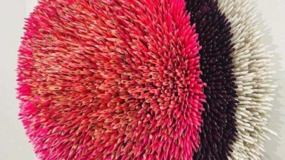 Andres Schiavo - Blooming in Pink, 2018 (detail)
