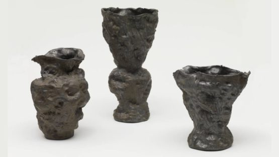 Andrew Lord - Three Vases, Fist 1985–6 - photo courtesy Tate Museum