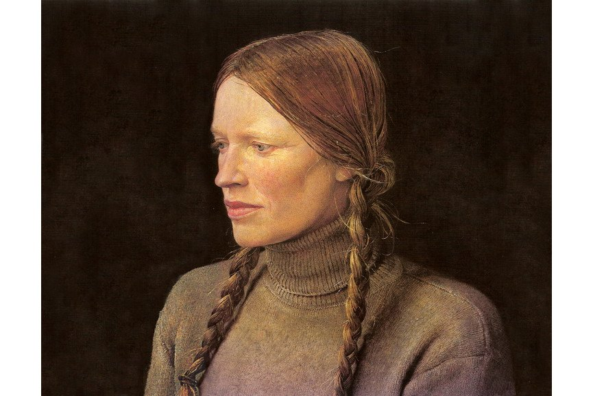 Andrew Wyeth - Braids