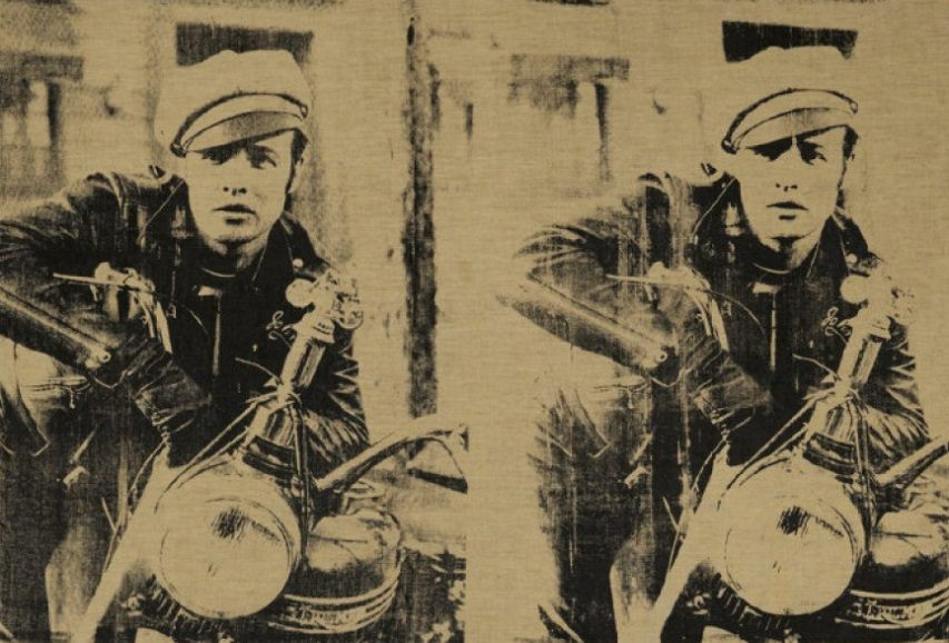 Andy Warhol – Four Marlons High (sold over estimated price for 69.605.000)