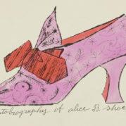 Andy Warhol - A La Recherche Du Shoe Perdu, 1955 (detail)