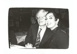 Andy Warhol and Ann Miller