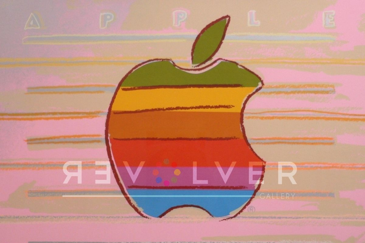 Andy Warhol's Apple, 1985; from ads series