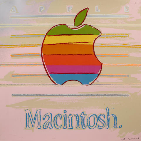 Andy Warhol-Apple from Ads-1985