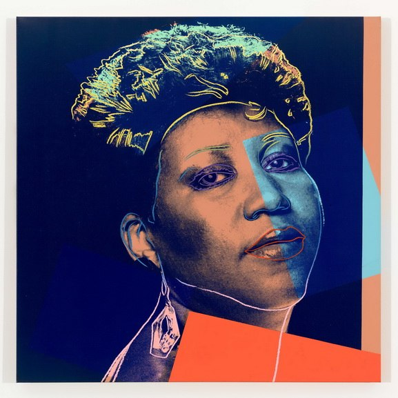 Andy Warhol - Aretha Franklin