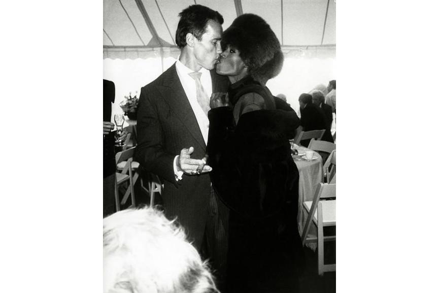 Andy Warhol - Arnold Schwarzenegger with Grace Jones