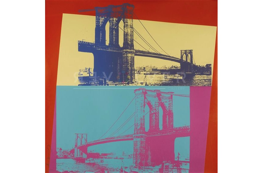 Andy Warhol - Brooklyn Bridge (FS II.290), 1983