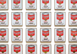 American consumerism through the eyes of andy warhol