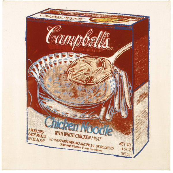 Andy Warhol-Campbell'S Soup Box: Chicken Noodle-1986