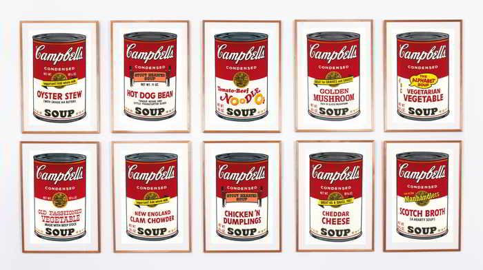Andy Warhol-Campbell's Soup II-1969