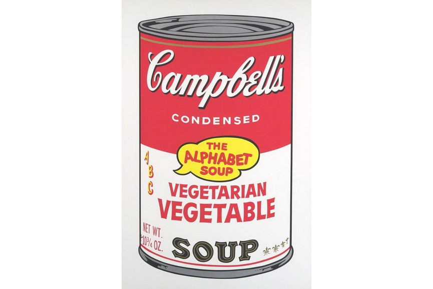 Andy Warhol - Campbell's Soup II Vegeterian Vegetables