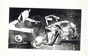 Andy Warhol-Car Crash-1978