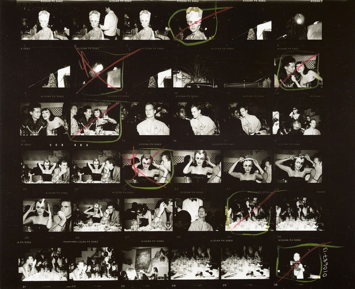 Andy Warhol - Contact Sheet _