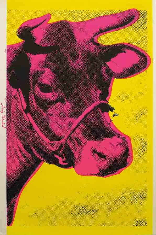 Andy Warhol-Cow-1966