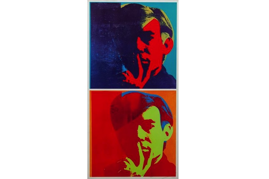 Andy Warhol - Double Self Portrait