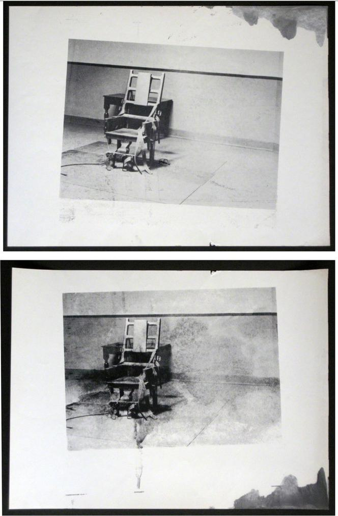 Andy Warhol - ELECTRIC CHAIR (Retrospective Series)