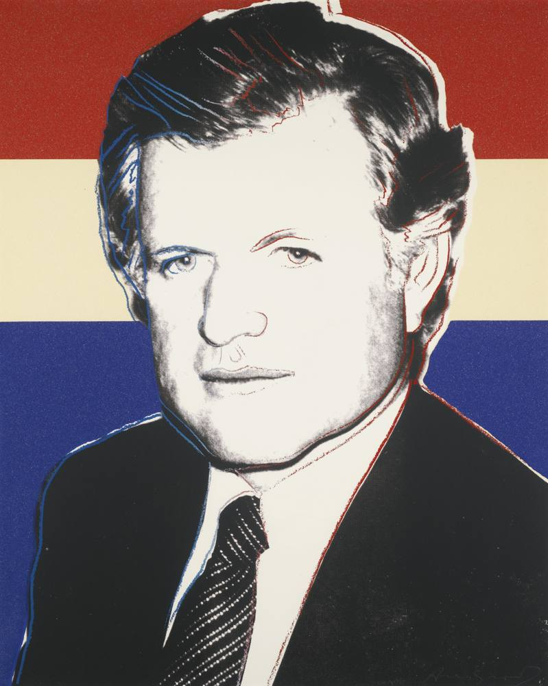 Andy Warhol-Edward Kennedy (Deluxe Edition)-1980