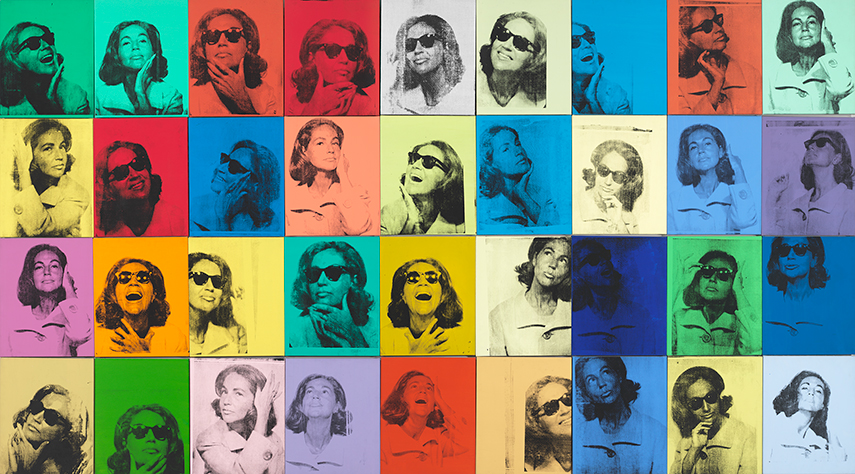 Andy Warhol - Ethel Scull 36 Times, 1963