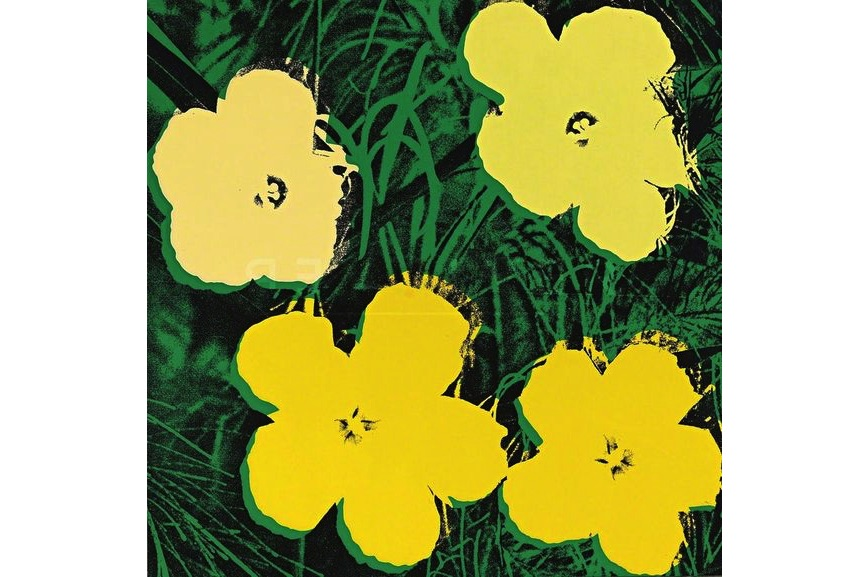 Andy Warhol - Flowers (FS II.72), 1970
