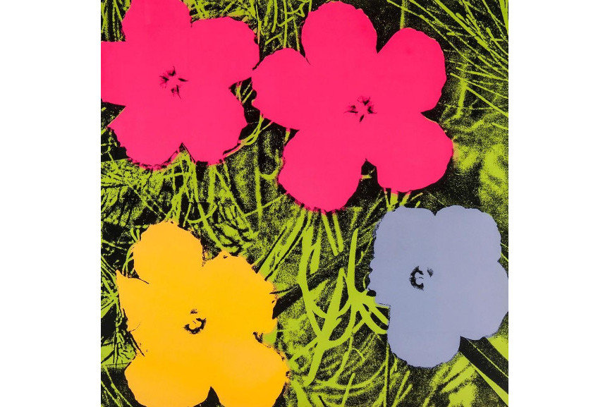 Andy Warhol - Flowers (II.73), 1956