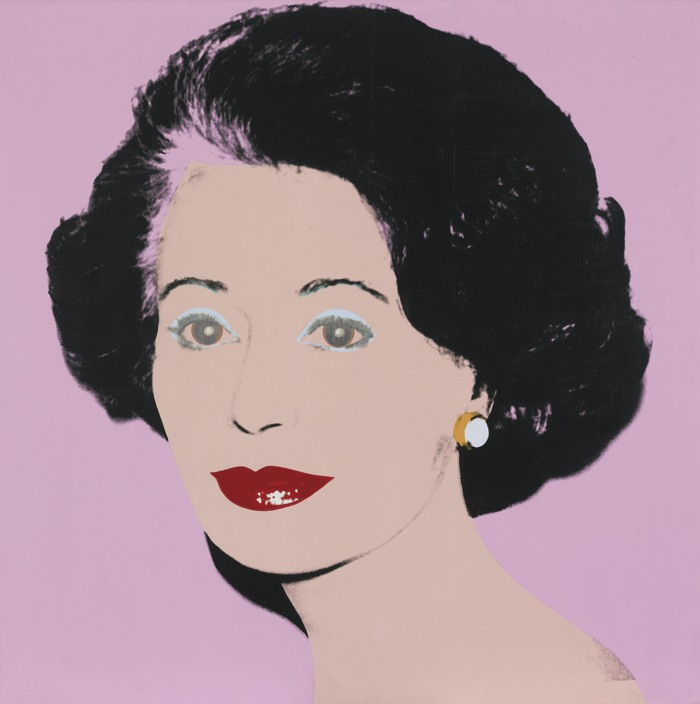 Andy Warhol-Gaetana Enders (The Ambassadress)-1983