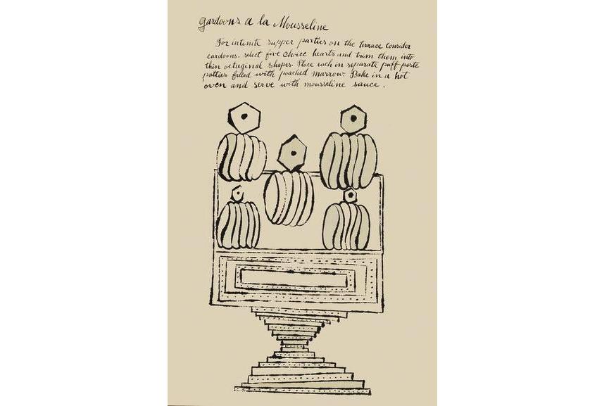 Andy Warhol - Gardone a la Mouselline, 1959