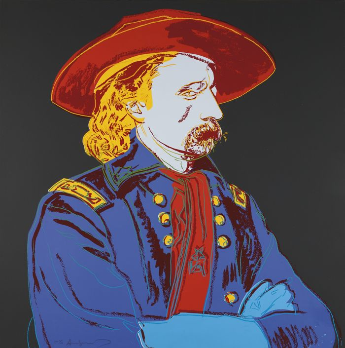 Andy Warhol-General Custer-1986