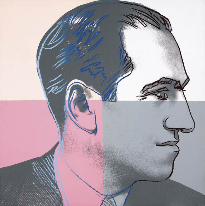 Andy Warhol-George Gershwin (From Ten Portraits Of Jews Of The Twentieth Century)-1980