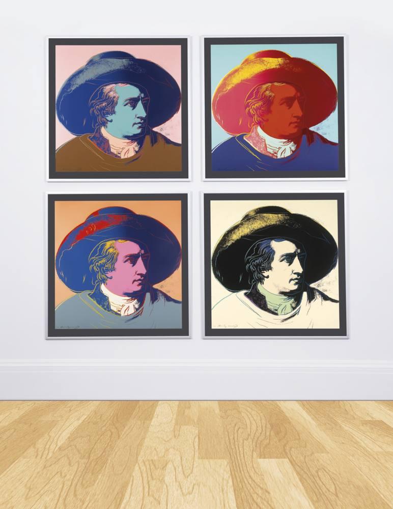 Andy Warhol-Goethe-1982