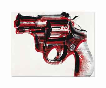 Andy Warhol-Gun-1981