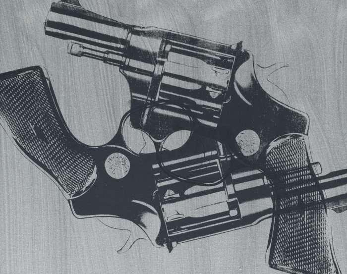 Andy Warhol-Guns-
