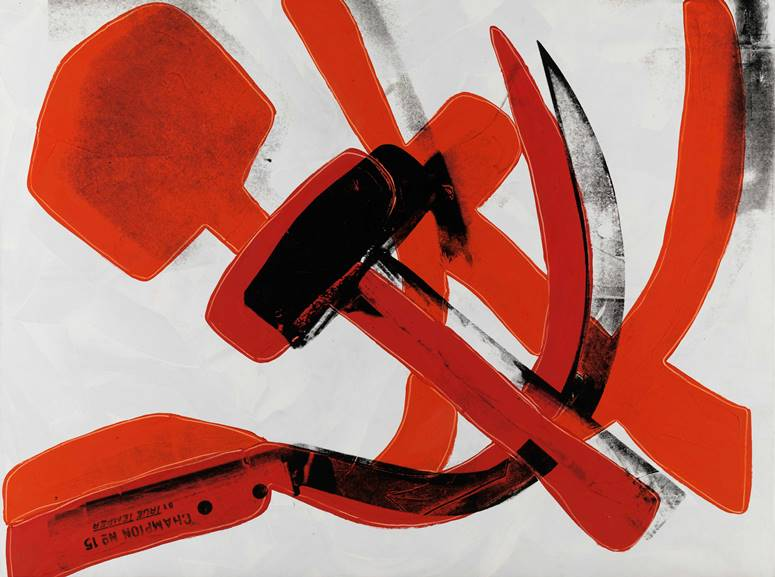 Andy Warhol -Hammer and Sickle