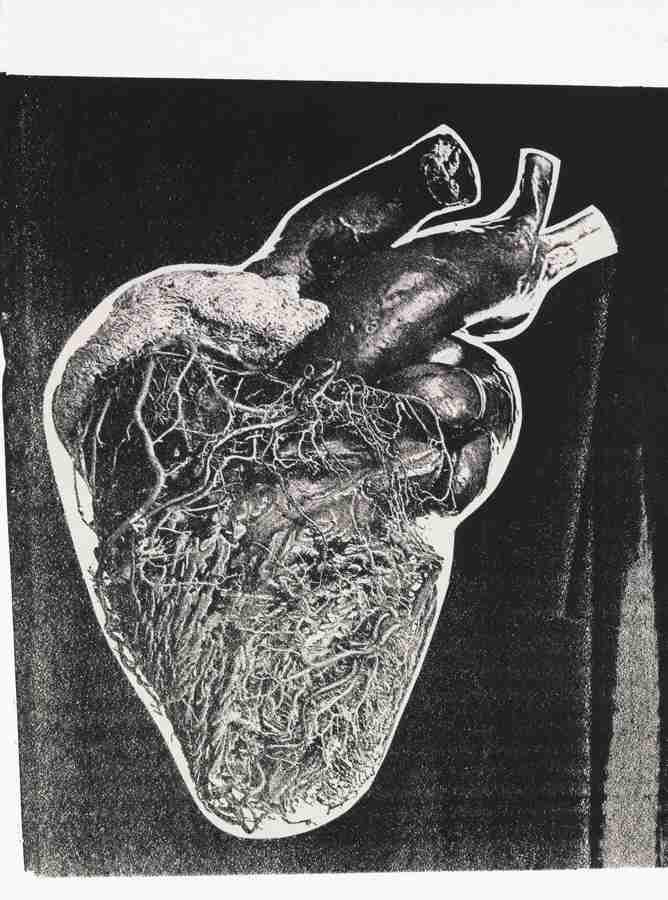 Andy Warhol-Heart-1979
