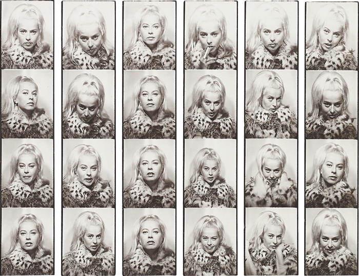 Andy Warhol-Holly Solomon-1964