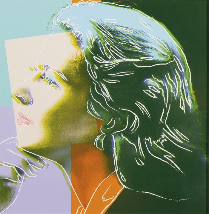 Andy Warhol-Ingrid Berman: Herself-1983